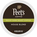 Peet's House Blend K-Cups Decaf