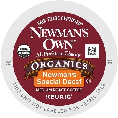 Newman's Own DECAF Special Blend K-Cups