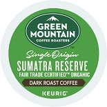 Green Mountain Fair Trade Sumatran Reserve Extra Bold