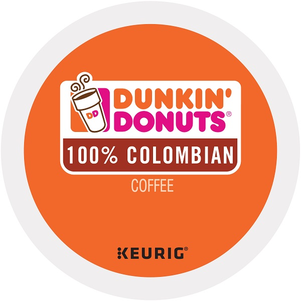 Dunkin' Donuts 100% Colombian Coffee K-Cups
