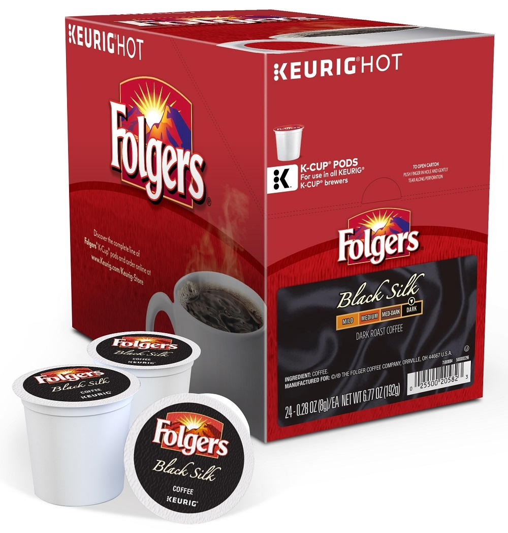 Folgers Black Silk K-Cups