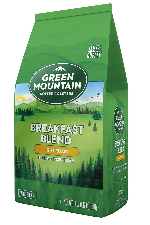 Green Mountain Breakfast Blend Whole Bean Coffee