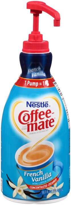 Coffee-mate French Vanilla Liquid Cream