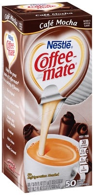 Coffee-mate Creamy Chocolate Creamer 50ct.