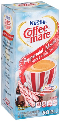 Coffee-Mate Peppermint Mocha 50/ct Box