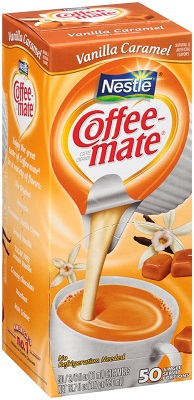 Coffee-Mate Vanilla Caramel Liquid Cream 50ct