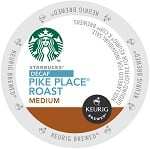 Starbucks Pikes Place Decaf K-Cups